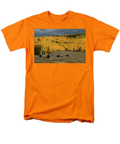 Men's T-Shirt  (Regular Fit) featuring the photograph Hills Afire by Dana Sohr