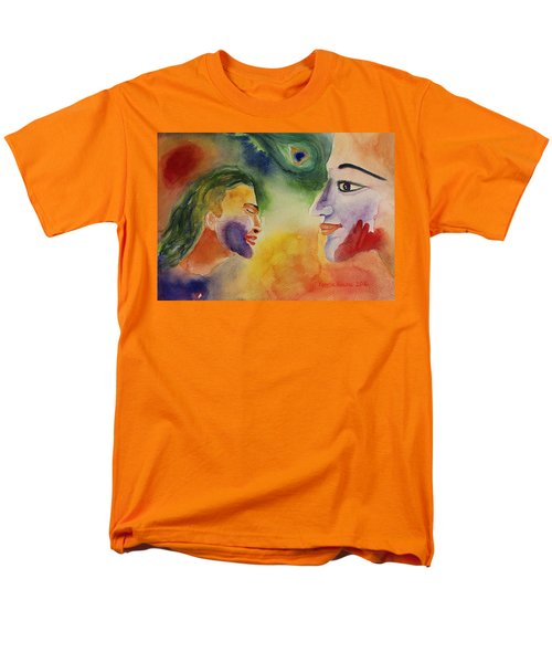 Holi The Festival Of Colors Men's T-Shirt  (Regular Fit) by Geeta Biswas