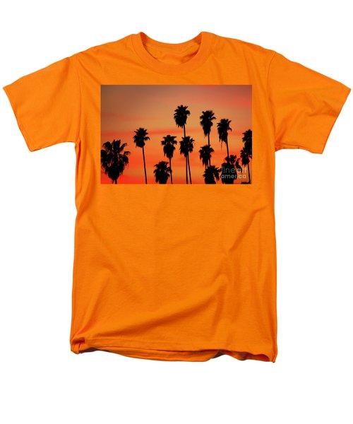 Hollywood Sunset Men's T-Shirt  (Regular Fit) by Mariola Bitner