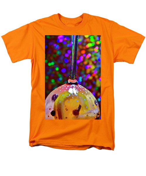 Men's T-Shirt  (Regular Fit) featuring the photograph Holographic Fruit Drop by Xn Tyler