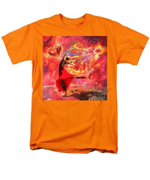 Holy Spirit Fire Men's T-Shirt  (Regular Fit) by Dolores Develde