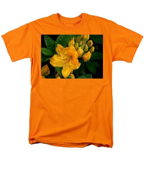 Honeysuckle Azalea Men's T-Shirt  (Regular Fit) by Karen Molenaar Terrell