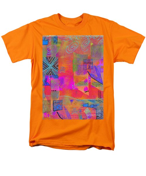 Men's T-Shirt  (Regular Fit) featuring the mixed media Hope And Dreams by Angela L Walker