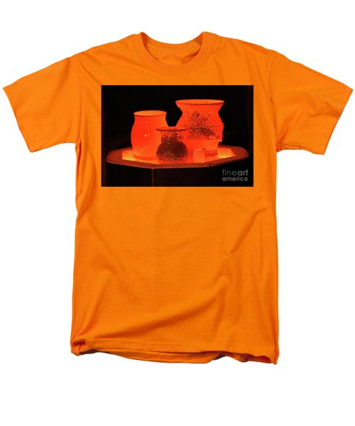 Men's T-Shirt  (Regular Fit) featuring the photograph Hot Pots by Skip Willits
