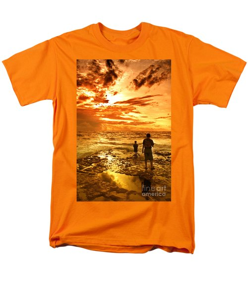 I Am Not Alone Men's T-Shirt  (Regular Fit) by Charuhas Images