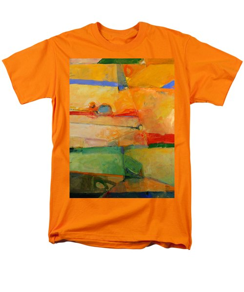 Men's T-Shirt  (Regular Fit) featuring the painting I'm In Corn  by Cliff Spohn