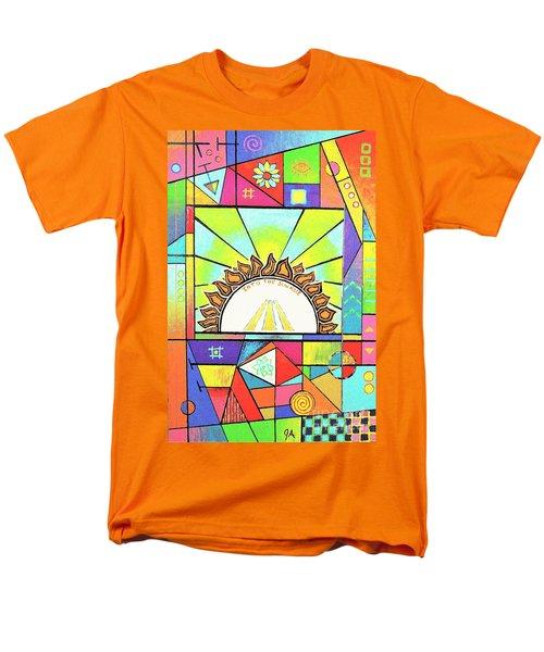 Into The Sun Men's T-Shirt  (Regular Fit) by Jeremy Aiyadurai