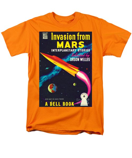 Invasion From Mars Men's T-Shirt  (Regular Fit) by Malcolm Smith