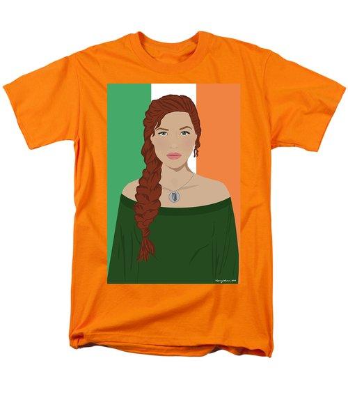 Men's T-Shirt  (Regular Fit) featuring the digital art Ireland by Nancy Levan