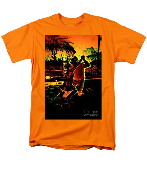 Men's T-Shirt  (Regular Fit) featuring the photograph It Takes Two To Tango by Al Bourassa