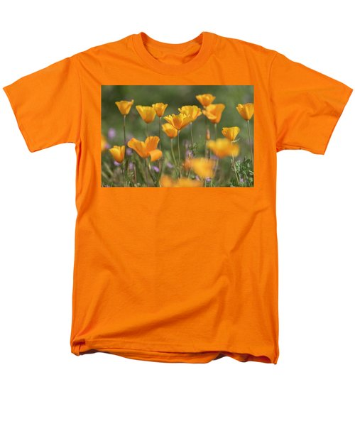 Men's T-Shirt  (Regular Fit) featuring the photograph It's A Poppy Thing  by Saija Lehtonen