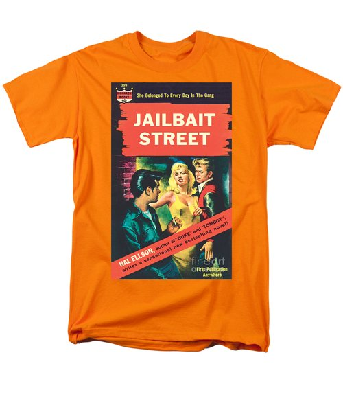 Men's T-Shirt  (Regular Fit) featuring the painting Jailbait Street by Ray Johnson