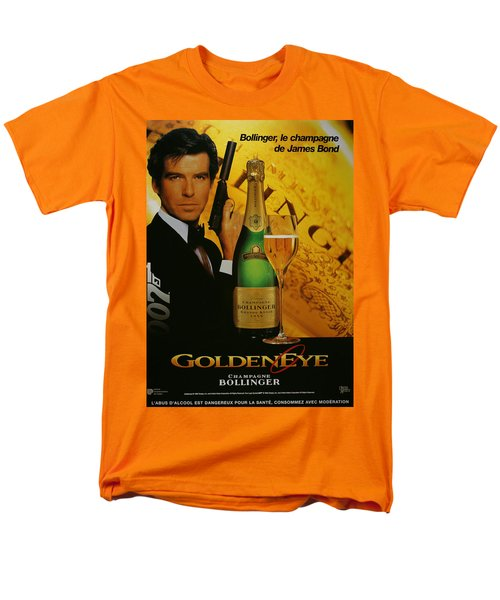 James Bond Ad 1995 Men's T-Shirt  (Regular Fit) by Andrew Fare