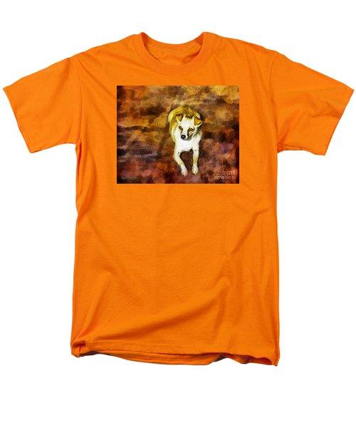 Jasper Men's T-Shirt  (Regular Fit) by Rhonda Strickland