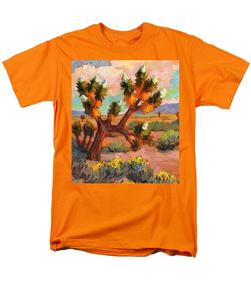 Joshua Tree Men's T-Shirt  (Regular Fit) by Diane McClary