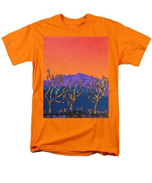 Joshua Trees Men's T-Shirt  (Regular Fit) by Mayhem Mediums