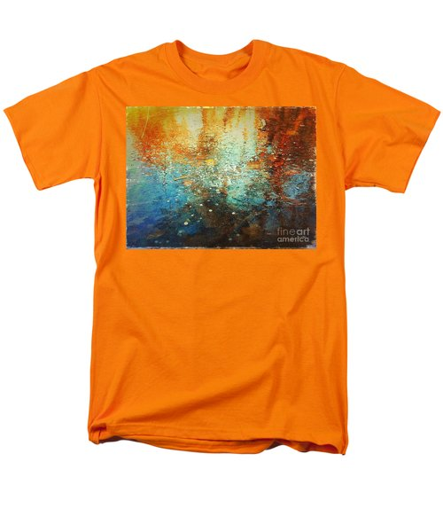Just A Happy Day Men's T-Shirt  (Regular Fit) by Delona Seserman
