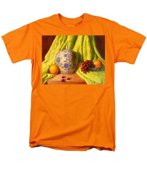 Men's T-Shirt  (Regular Fit) featuring the painting La Jardiniere by Joe Bergholm