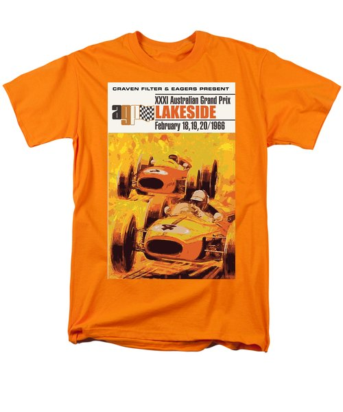 Lakeside Racing Men's T-Shirt  (Regular Fit) by Gary Grayson