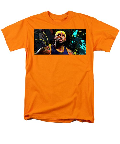 Lebron Men's T-Shirt  (Regular Fit) by Richard Day