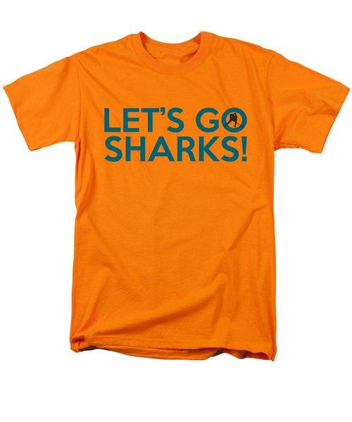 Let's Go Sharks Men's T-Shirt  (Regular Fit) by Florian Rodarte