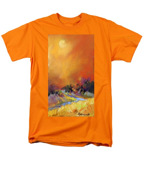Men's T-Shirt  (Regular Fit) featuring the painting Light Dance by Rae Andrews