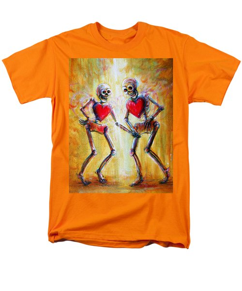 Men's T-Shirt  (Regular Fit) featuring the painting Love 2 Love by Heather Calderon