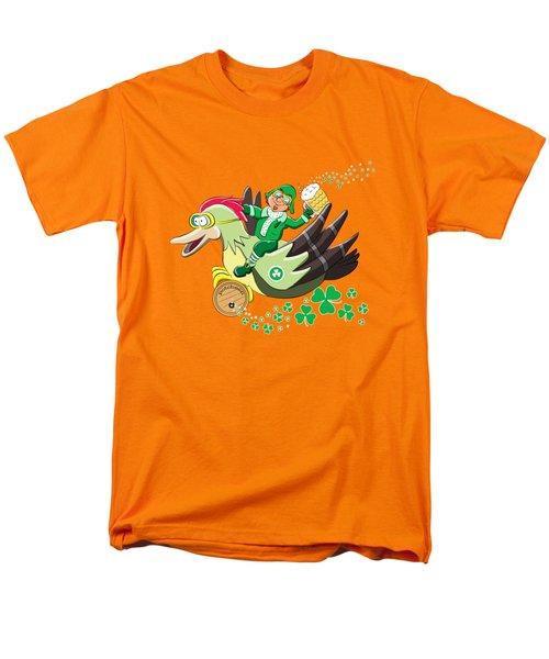 Lucky Leprechaun Men's T-Shirt  (Regular Fit)