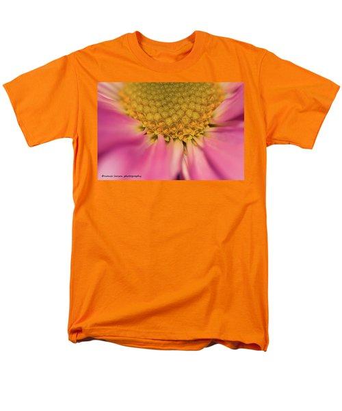 Macro Daisy Men's T-Shirt  (Regular Fit) by Nance Larson