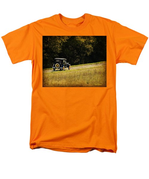 Madison County Back Roads-ford Men's T-Shirt  (Regular Fit) by Kathy M Krause