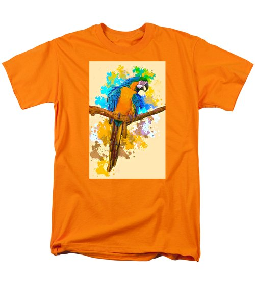 Men's T-Shirt  (Regular Fit) featuring the photograph Making A Splash by Brian Tarr