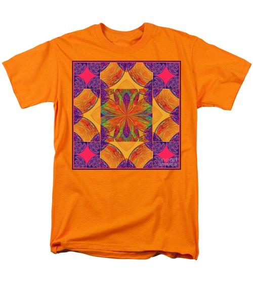 Men's T-Shirt  (Regular Fit) featuring the digital art Mandala #2  by Loko Suederdiek