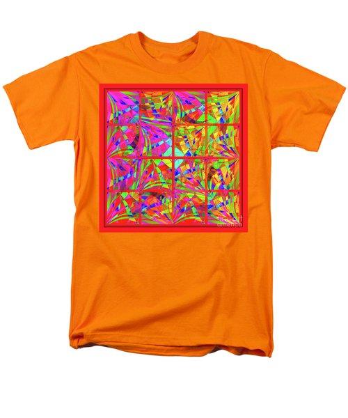 Men's T-Shirt  (Regular Fit) featuring the digital art Mandala #48 by Loko Suederdiek