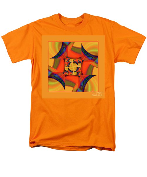 Men's T-Shirt  (Regular Fit) featuring the digital art Mandala #56 by Loko Suederdiek