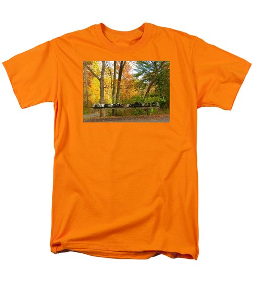Many Shapes And Sizes Men's T-Shirt  (Regular Fit) by Jeanette Oberholtzer