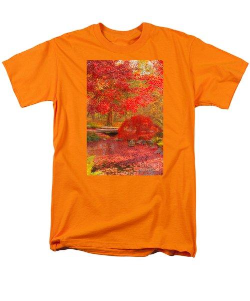 Men's T-Shirt  (Regular Fit) featuring the photograph Maple Bridge by Geraldine DeBoer
