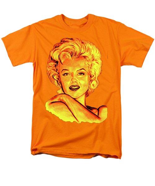 Marilyn Men's T-Shirt  (Regular Fit) by Gitta Glaeser