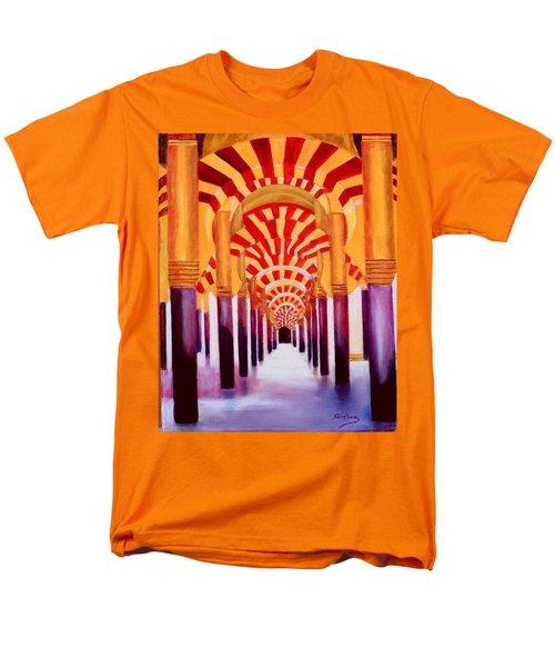 Mezquita De Cordoba Men's T-Shirt  (Regular Fit) by Manuel Sanchez