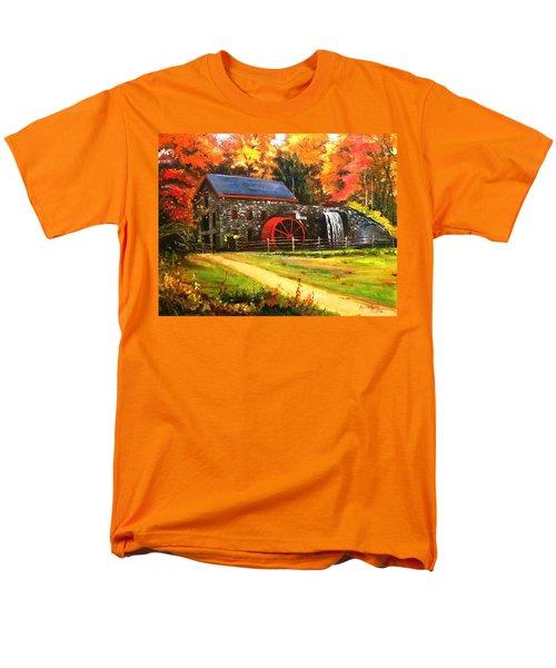 Mill House Men's T-Shirt  (Regular Fit) by Rose Wang