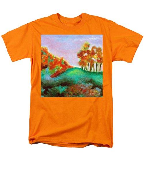 Misty Morning Men's T-Shirt  (Regular Fit) by Elizabeth Fontaine-Barr