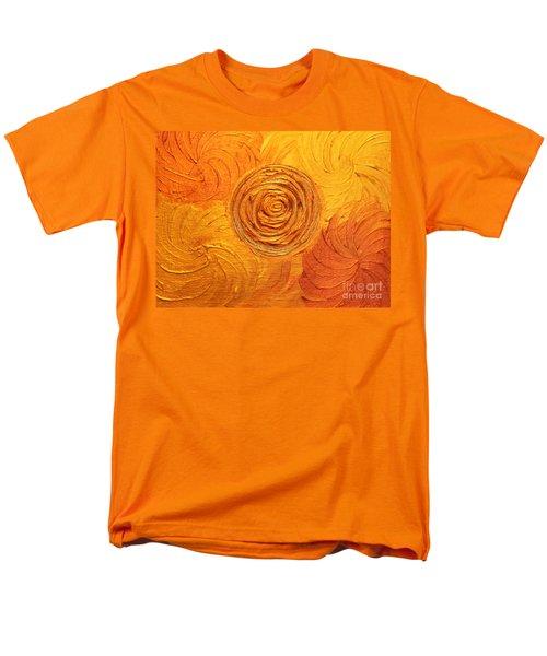 Molten Spiral Men's T-Shirt  (Regular Fit) by Rachel Hannah
