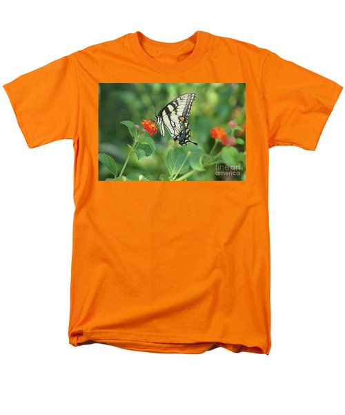 Monarch Butterfly Men's T-Shirt  (Regular Fit) by Debra Crank