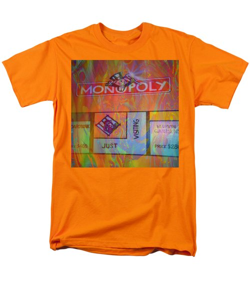 Monopoly Dream Men's T-Shirt  (Regular Fit) by Kevin Caudill
