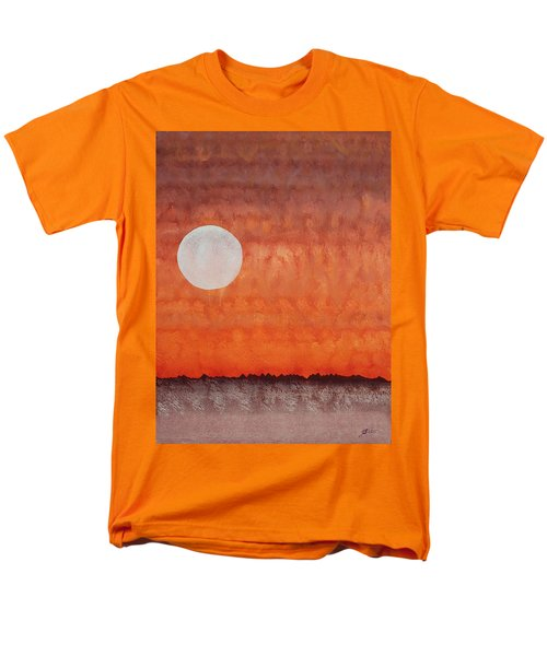 Moon Over Mojave Men's T-Shirt  (Regular Fit) by Sol Luckman