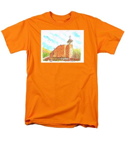 Morada De La Conquistadora Chapel, Santa Fe, New Mexico Men's T-Shirt  (Regular Fit) by Carlos G Groppa