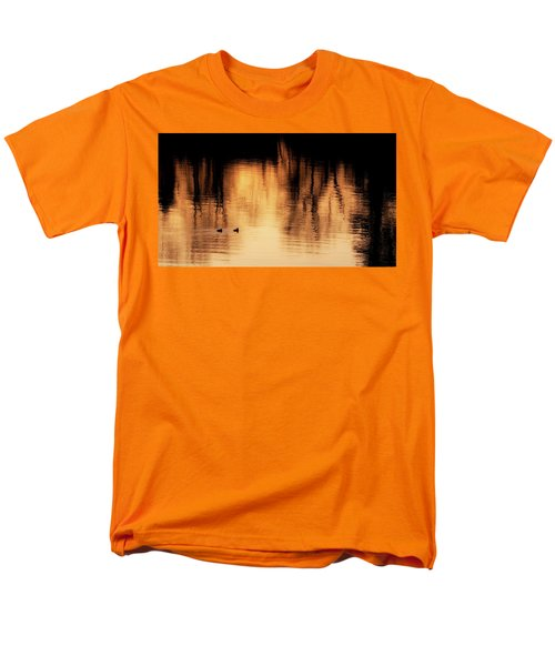 Men's T-Shirt  (Regular Fit) featuring the photograph Morning Ducks 2017 by Bill Wakeley