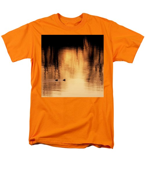 Men's T-Shirt  (Regular Fit) featuring the photograph Morning Ducks 2017 Square by Bill Wakeley