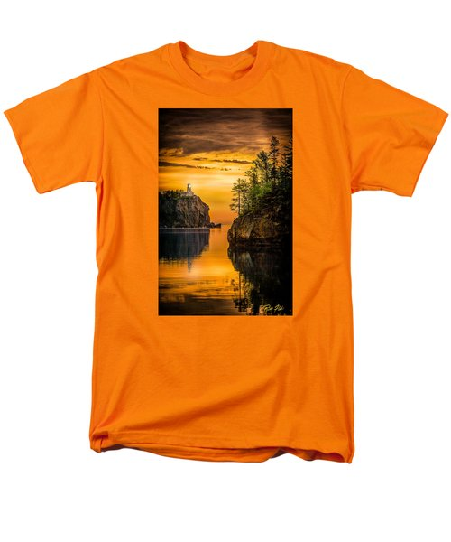Men's T-Shirt  (Regular Fit) featuring the photograph Morning Glow Against The Light by Rikk Flohr