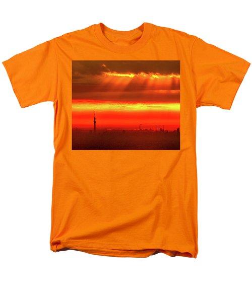Morning Glow Men's T-Shirt  (Regular Fit) by Tatsuya Atarashi