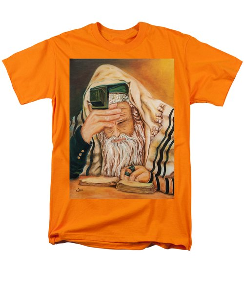 Morning Prayer Men's T-Shirt  (Regular Fit) by Itzhak Richter